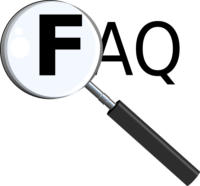 FAQs magnifying glass image