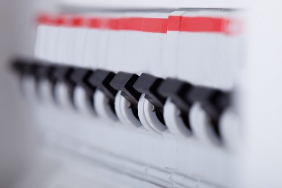 electrical fuse board like the type that is used for electrical testing to produce an EICR