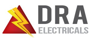 DRA Electricals logo - providing electrical testing services in Newcastle upon Tyne